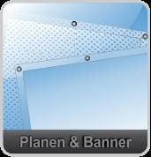 Banner und Planen