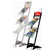 Prospektständer SlideIn für DIN A4 3x