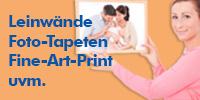 Kreatives Wohnen Leinwand Fototapete Fine-Art-Print